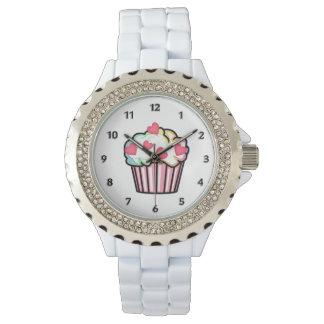 Cupcake Love Wrist Watch