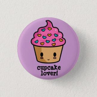 Cupcake Lover Button