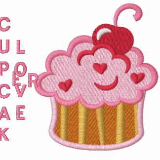Cupcake Lover Embroidered Shirt