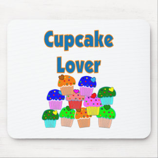 """Cupcake Lover""---Mound of Bright colored cupcakes Mouse Mat"