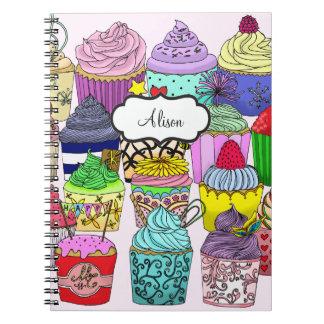 Cupcake Lover Notebook