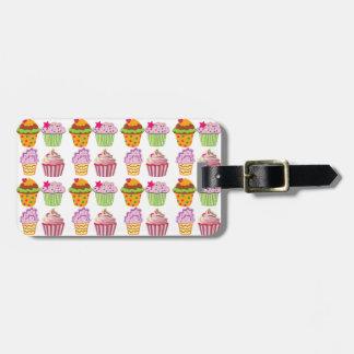 Cupcake Travel Bag Tag