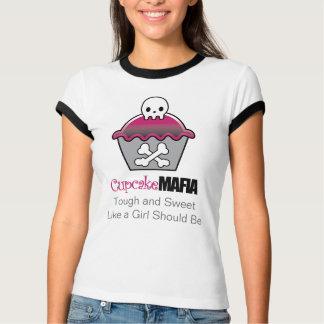 Cupcake Mafia Womens Ringer TShirt