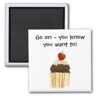 Cupcake Magnet magnet