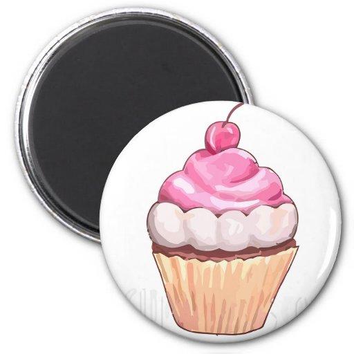 """Cupcake"" Magnet Refrigerator Magnets"