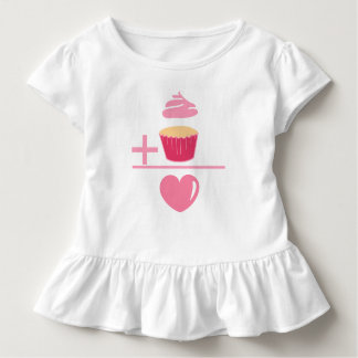 Cupcake Math Toddler T-shirt