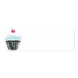 Cupcake Mini Business Card