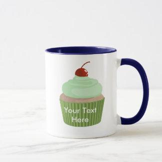 Cupcake-Mint and Green Mug