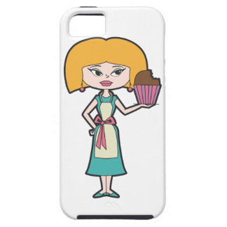 Cupcake Mom iPhone SE/5/5s Case