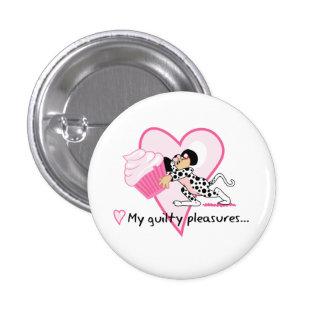 Cupcake Mouse (Dalmation Suit) Button