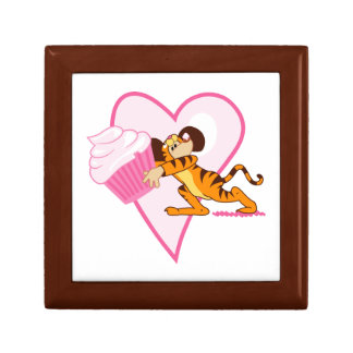 Cupcake Mouse (tiger suit) Jewelry Boxes