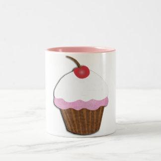 Cupcake Two-Tone Coffee Mug