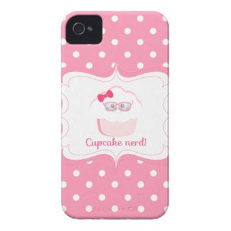 Cupcake Nerd iPhone 4 Cases