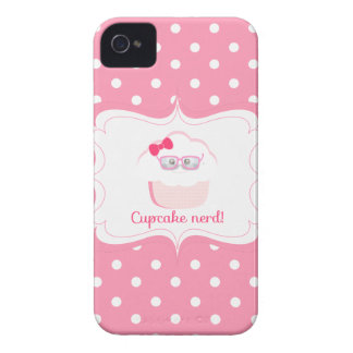 Cupcake Nerd iPhone 4 Case-Mate Case