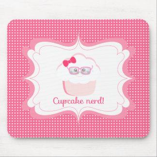 Cupcake Nerd Mousepad