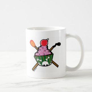 cupcake of doom classic white coffee mug