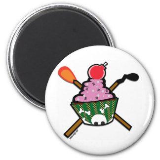 cupcake of doom magnets