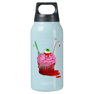 Cupcake Of The Dead Insulated Water Bottle