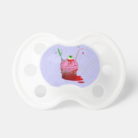 Cupcake Of The Dead Pacifier