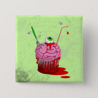 Cupcake Of The Dead Pinback Button