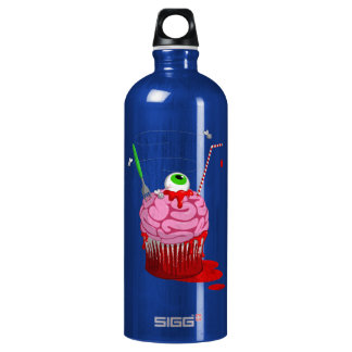 Cupcake Of The Dead Water Bottle