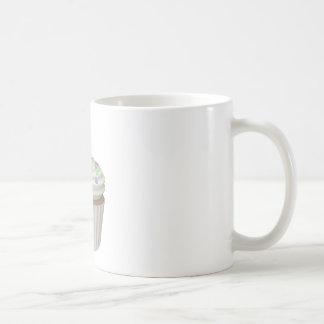 Cupcake of tuttifruti coffee mug