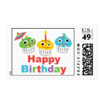 Cupcake Party Happy Birthday Cupcake stamps