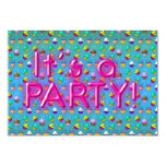 Cupcake Party invatations 3.5x5 Paper Invitation Card