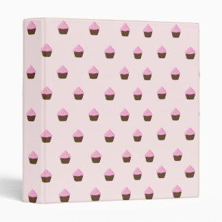Cupcake Pattern Binder