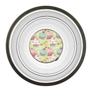 Cupcake pattern bowl