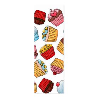 Cupcake Pattern Business Card Template