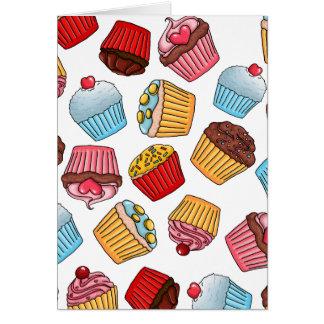 Cupcake Pattern Card