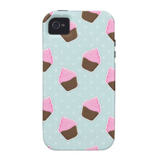 Cupcake Pattern Case-Mate iPhone 4 Cases