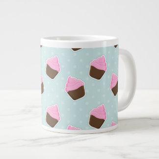 Cupcake Pattern Giant Coffee Mug