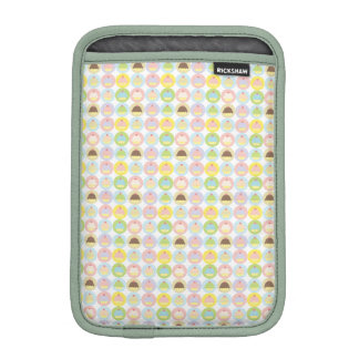 Cupcake Pattern iPad Mini Sleeve