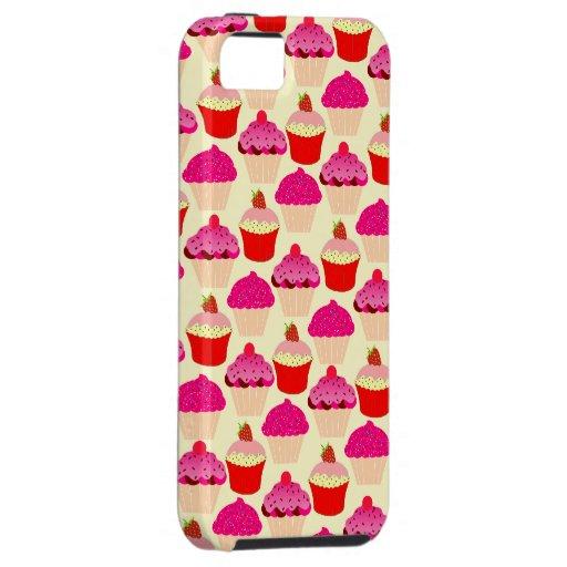 Cupcake Pattern iPhone 5 Case Case