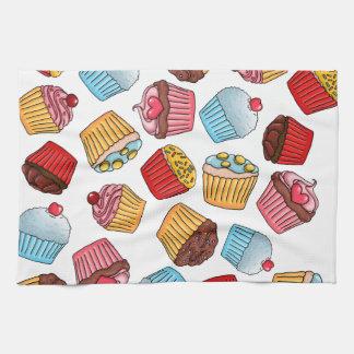 Cupcake Pattern Towel