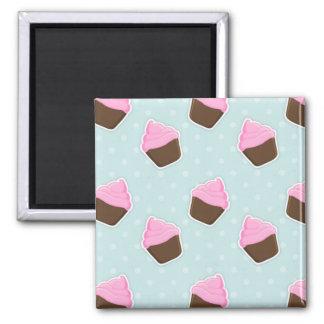 Cupcake Pattern Fridge Magnet