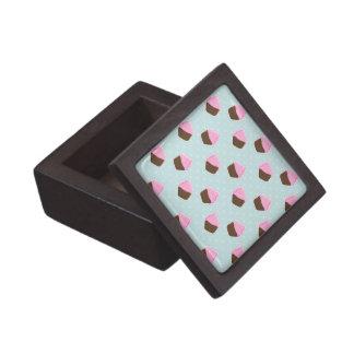 Cupcake Pattern Premium Gift Box