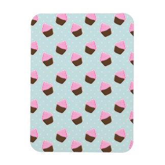 Cupcake Pattern Magnet