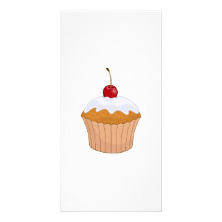 Cupcake Personalized Photo Card