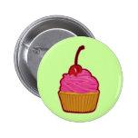 Cupcake Pinback Buttons