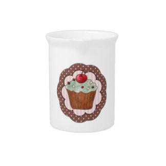 Cupcake Beverage Pitchers