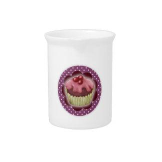 Cupcake Drink Pitcher