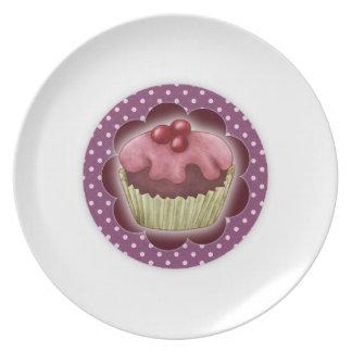 Cupcake Plate