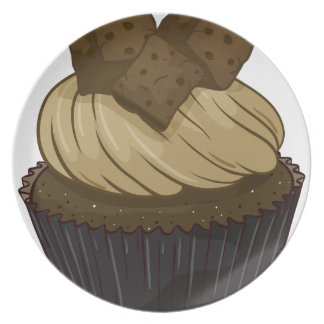Cupcake Party Plate