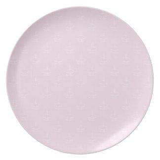 Cupcake Plate- Pink Plate