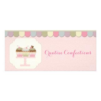 Cupcake Platter Rack Card