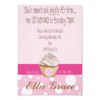 Cupcake & Polka Dots - 2nd Card