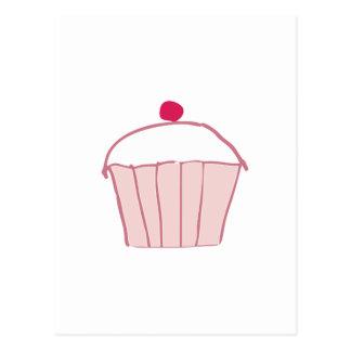 Cupcake Post Card